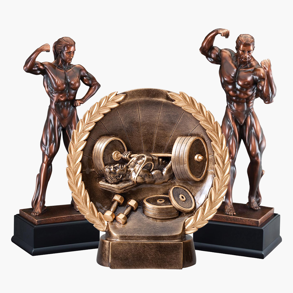 Weightlifting Trophies